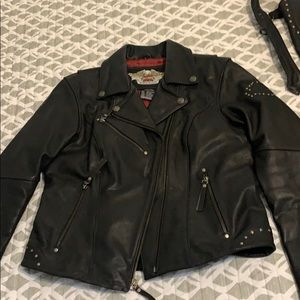 Harley Davidson Jacket & Chaps